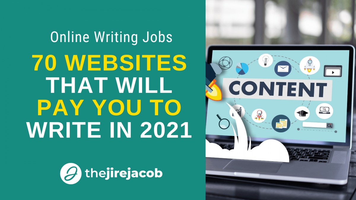 70 Websites that will pay you to write in 2021